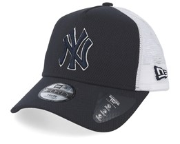 Kids New York Yankees Diamond Era Navy/White Trucker - New Era