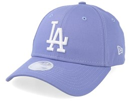 Los Angeles Dodgers Womens League Essential 9Forty Light Purple Adjustable - New Era