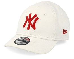 Kids New York Yankees League Essential 9Forty Infant White/Red Adjustable - New Era