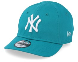 Kids New York Yankees League Essential 9Forty Infant Teal/White Adjustable - New Era
