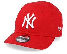 Kids New York Yankees League Essential 9Forty Infant Red/White Adjustable - New Era