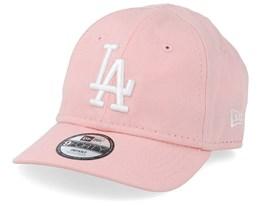 Kids Los Angeles Dodgers League Essential 9Forty Infant Pink Adjustable - New Era