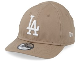 Kids Los Angeles Dodgers League Essential 9Forty Infant Camel/White Adjustable - New Era