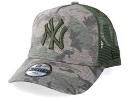 Kids New York Yankees 9Forty Camo/Green Trucker - New Era