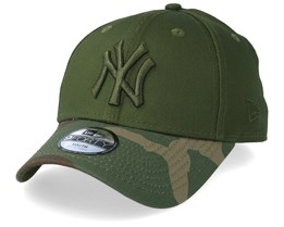Kids New York Yankees Green/Camo Adjustable - New Era