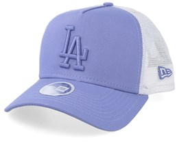 Los Angeles Dodgers Womens Essential Lilac/White Trucker - New Era