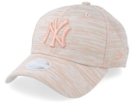 New York Yankees Womens Engineered Fit 9Forty Peach Adjustable - New Era