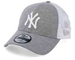 1ab7154057b16 New York Yankees Summer League 9Forty Grey/White Trucker - New Era