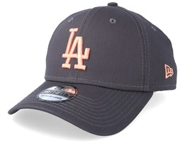 Los Angeles Dodgers Essential 39Thirty Dark Grey/Pink Flexfit - New Era