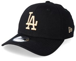 Los Angeles Dodgers Essential 39Thirty Dark Grey/Camel Flexfit - New Era