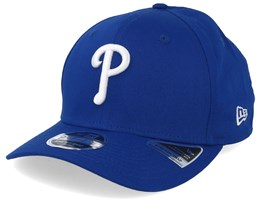 Philadelphia Phillies Stretch Snap 9Fifty Blue Adjustable - New Era