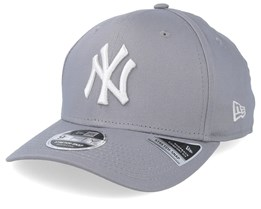 New York Yankees Stretch Snap 9Fifty Grey Adjustable - New Era
