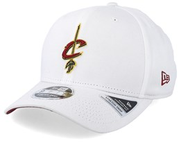 Cleveland Cavaliers Stretch Snap 9Fifty White Adjustable - New Era