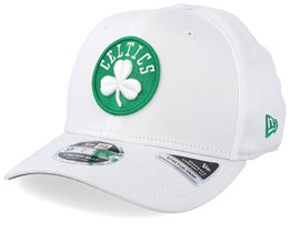 Boston Celtics Stretch Snap 9Fifty White Adjustable - New Era