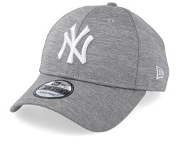 New York Yankees Shadow Tech 9Forty Grey/White Adjustable - New Era