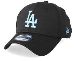 Los Angeles Dodgers Shadow Tech 9Forty Black/Light Blue Adjustable - New Era