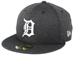 Detroit Tigers Shadow Tech 59Fifty Black Fitted - New Era