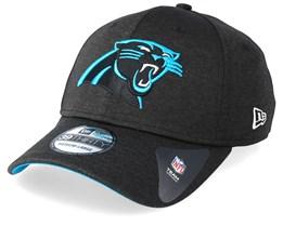 Carolina Panthers Shadow Tech 39Thirty Black Flexfit - New Era
