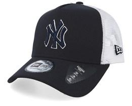 d5ccdbe948b New York Yankees Diamond Era Navy/White Trucker - New Era