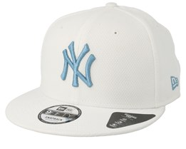New York Yankees Diamond Era 9Fifty White/Light Blue Snapback - New Era