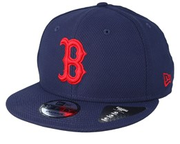 the best attitude fc9ba 97d1d Boston Red Sox Diamond Era 9Fifty Navy Red Snapback - New Era