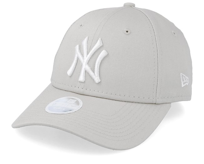 a2234449a1c0ef New York Yankees Womens League Essential 9Forty Stone/White Adjustable - New  Era