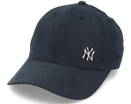 Kids New York Yankees Flawless 9Forty Black/Metal Adjustable - New Era