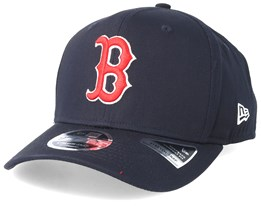 watch f69a4 5dc3c Boston Red Sox Precurve 9fifty Stretch Snap Black Adjustable - New Era