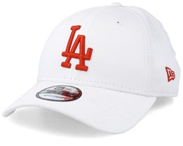 pretty nice 11f87 d5b11 Los Angeles Dodgers Pop White Red Adjustable - New Era