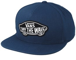 Classic Patch Gibraltar Sea Blue Snapback - Vans
