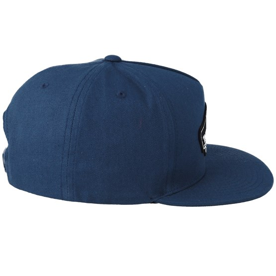 Classic Patch Gibraltar Sea Blue Snapback Vans Caps