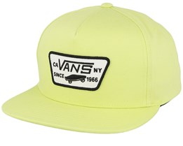 Full Patch Sharp Yellow Snapback - Vans