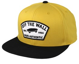 Trask Yellow/Black Snapback - Vans