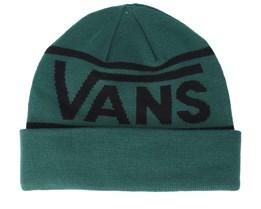 Drop V Stripe Green Cuff - Vans