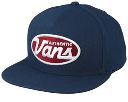 Moris Sea Blue Snapback - Vans