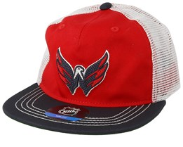 Kids Washington Capitals Red/Navy Trucker - Outerstuff