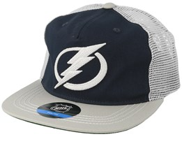 Kids Tampa Bay Lightning Navy/Grey Trucker - Outerstuff