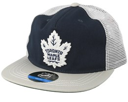 Kids Toronto Maple Leafs Navy/Grey Trucker - Outerstuff