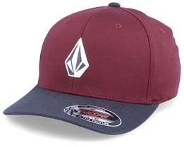 Full Stone Maroon/Navy Flexfit - Volcom