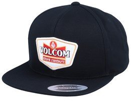 Cresticle Led Black Snapback - Volcom