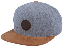 Quarter Storm/Brown Snapback - Volcom