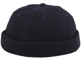 Voldock Black Brimless Cap - Volcom