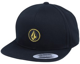 Quarter Twill Black/Gold - Volcom