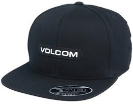 Euro 110 Black Snapback - Volcom
