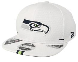 Seattle Seahawks 9Fifty On Field 19 Training White Snapback - New Era