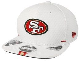 San Francisco Giants 9Fifty On Field 19 Training White Snapback - New Era