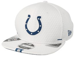 Indianapolis Colts 9Fifty On Field 19 Training White Snapback - New Era