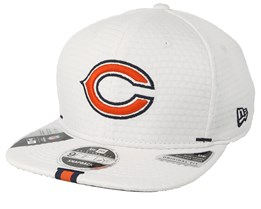 Chicago Bears 9Fifty On Field 19 Training White Snapback - New Era