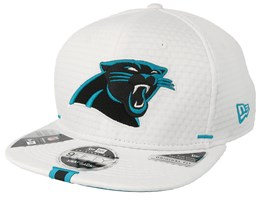 Carolina Panthers 9Fifty On Field 19 Training White Snapback - New Era