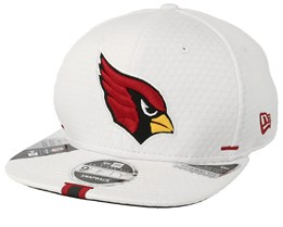Arizona Cardinals 9Fifty On Field 19 Training White Snapback - New Era